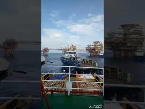 kapal crewboat baruna raya logistic Offshore service