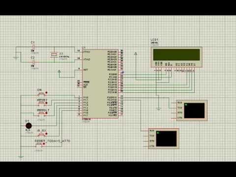 Tx Rx Virtual Wire using RF Link Module Proteus by Carlos de Freitas