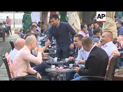 Muslims in Bosnia celebrate religious holiday of Eid