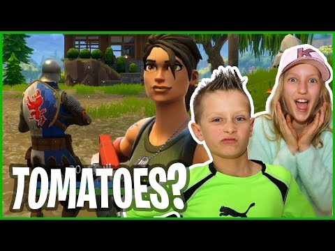 Karina Loves Tomatoes Too Much - Fortnite with GamerGirl