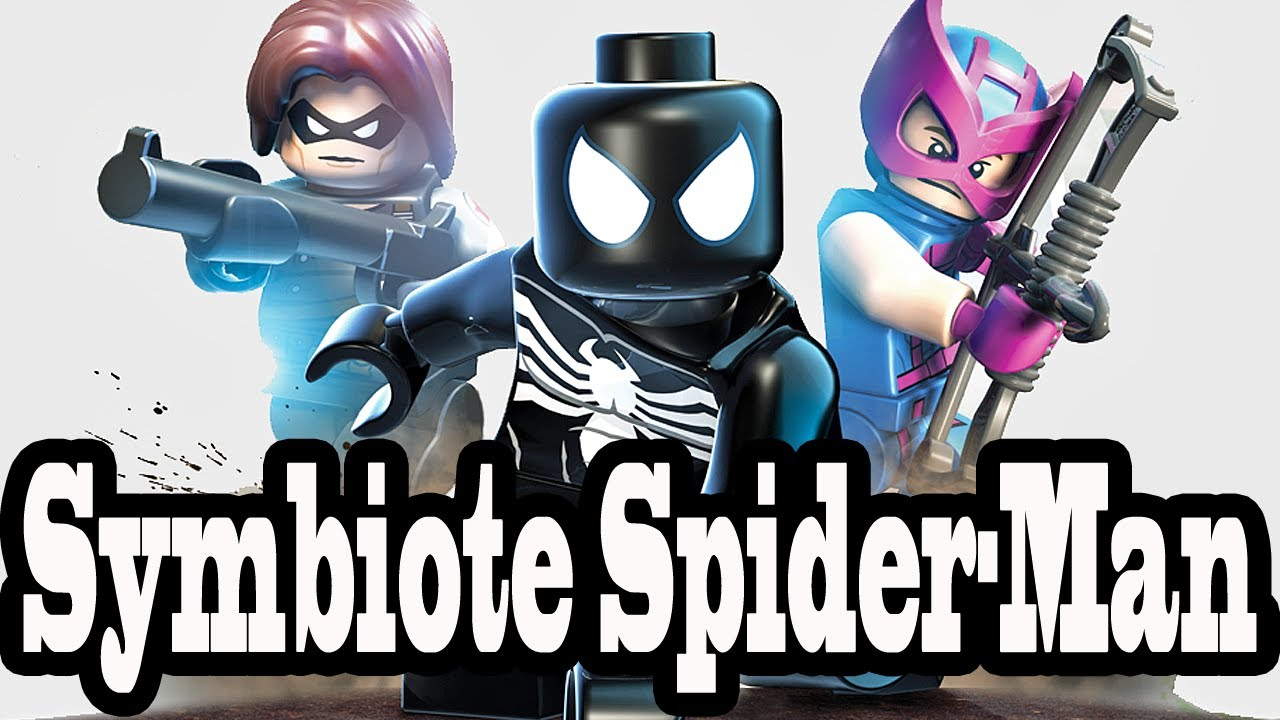 lego marvel super heroes symbiote spiderman review 1080p
