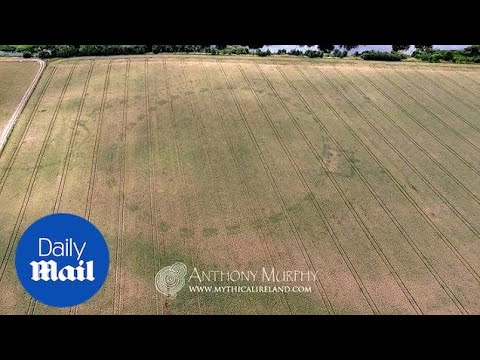 Drone footage of new Neolithic henge...