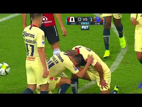 Gol de C. Domínguez   Atlas 0 - 2 América   Clausura 2019 - Jornada 2   LIGA Bancomer MX