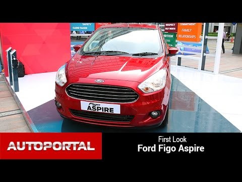 Ford Figo Aspire 2015 First Look - Autoportal