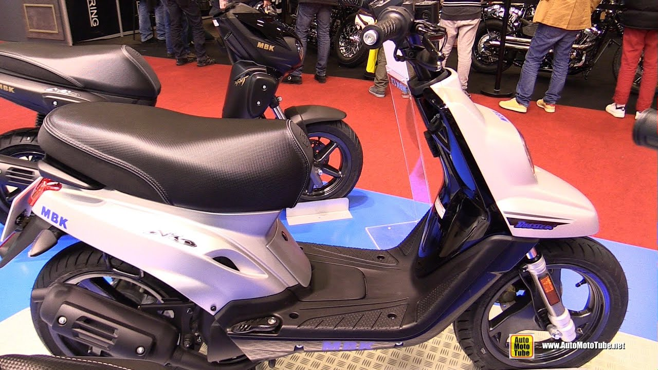2016 mbk booster naked 13inch 50cc scooter walkaround. Black Bedroom Furniture Sets. Home Design Ideas
