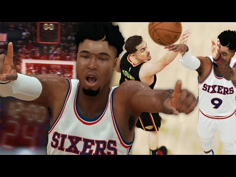 NBA 2K19 MyCAREER - BUZZER BEATER GAME WINNER!! Eli Harris vs Trae Young!