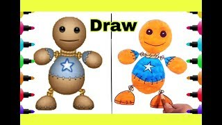Kick The Buddy Game - Draw - Kick the Buddy game | Drawing With Color For Kids