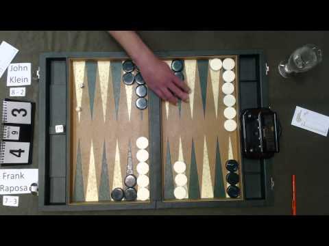 Carolina Backgammon R11 Frank Raposa v John Klein