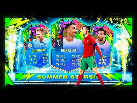 VEM RONALDO E MESSI NESTES PACKS!!! FIFA 21