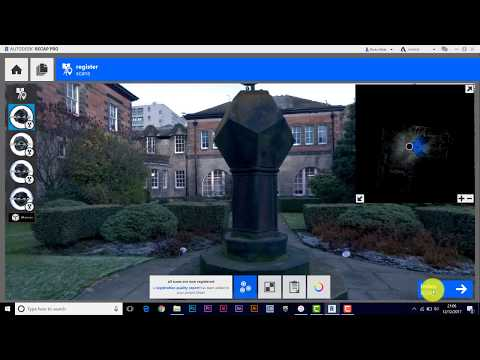 Leica BLK360 - Low Res Scan to Low Quality Mesh - Walkthrough