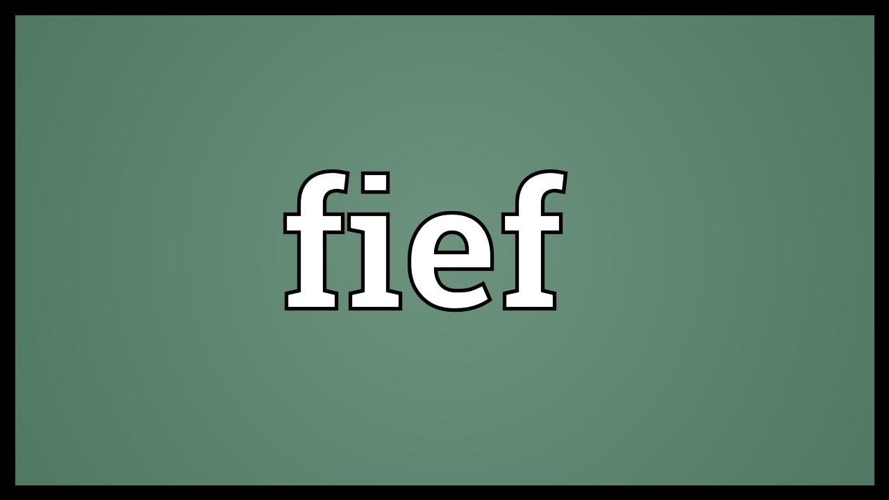 Fief Meaning   YouTube