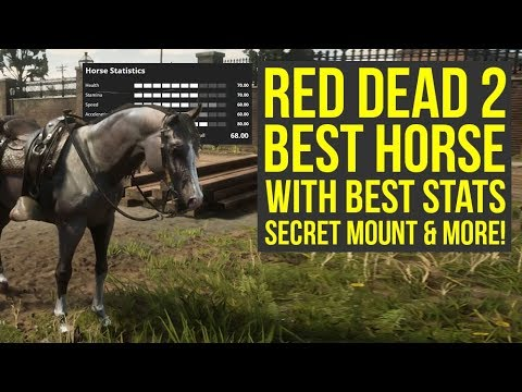 Red Dead Redemption 2 Best Horse With Best Stats Easy To Get