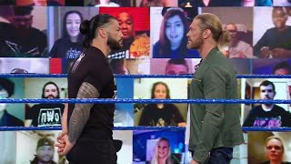 Edge and Roman Reigns gear up for WrestleMania collision this Friday on SmackDown