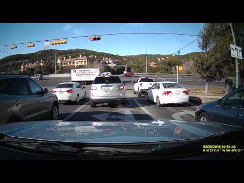 Dump Truck Plows Through Intersection