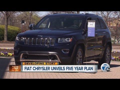 Fiat Chrysler unveils five year plan