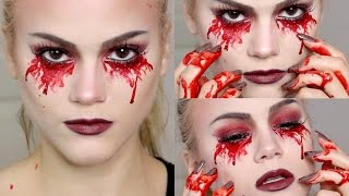 Bloody Mary Makeup Tutorial | Halloween thumbnail