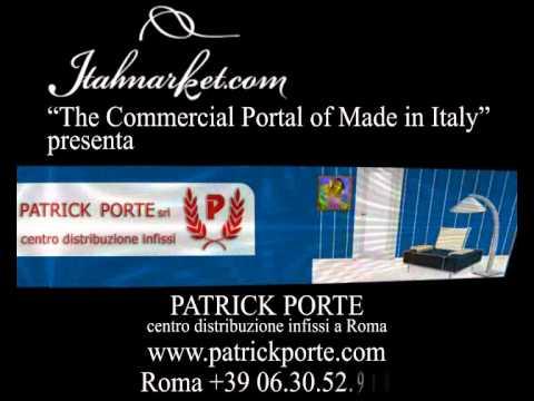 PRODUZIONE PORTE E FINESTRE IN LEGNO A ROMA - PATRICK PORTE - YouTube