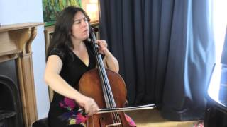 Naomi Wright plays Gigue from J.S Bach's Cello Suite no 3