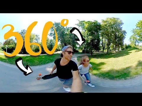 360°-LONGBOARD TOUR durch Stuttgart #360° Nr. 1   MANDA