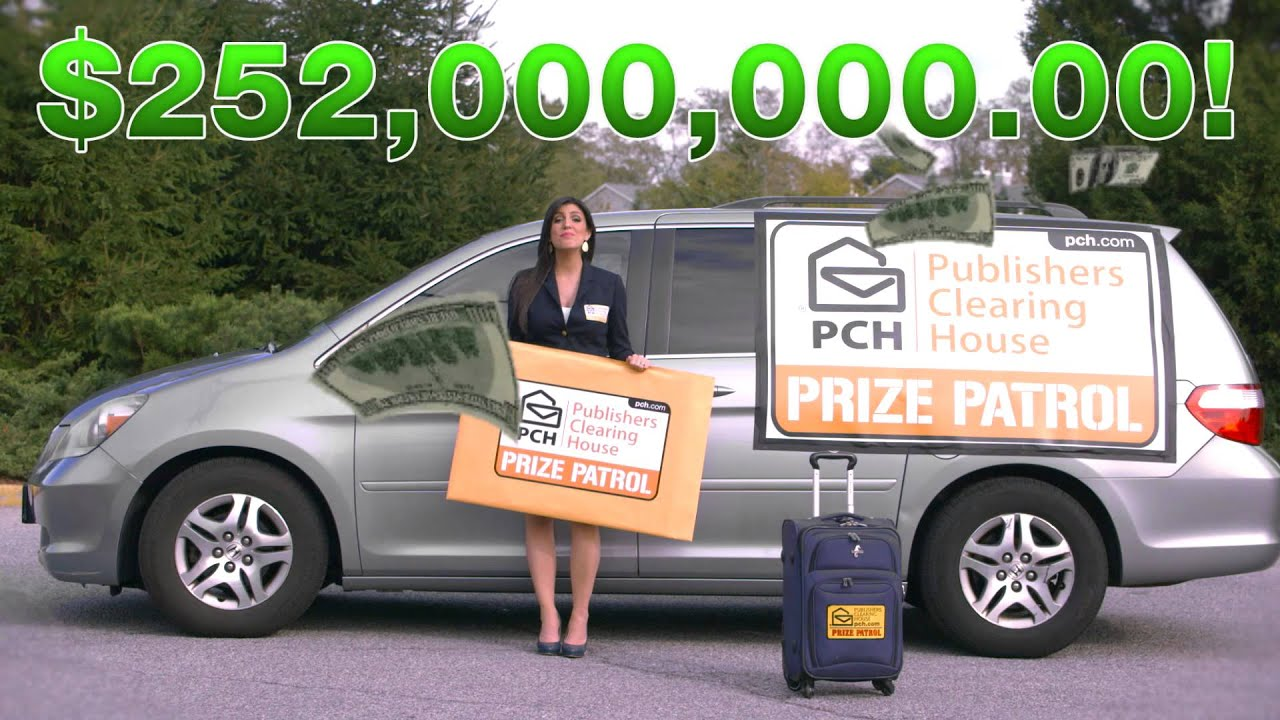 Anyone could win with publishers clearing house youtube for Publish house