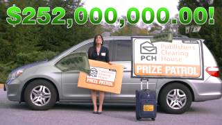 Anyone could win with Publishers Clearing House!