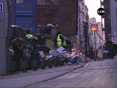 Les déchets perturbent le commerce (Marseille)