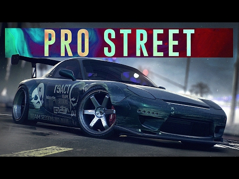 Need For Speed Pro Street Trailer ( NFS 2015 Remake )