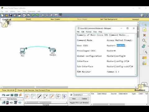 Cisco CCNA Training - Basic Cisco IOS Command Modes