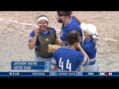 Anthony Wayne at Notre Dame Academy High School Softball