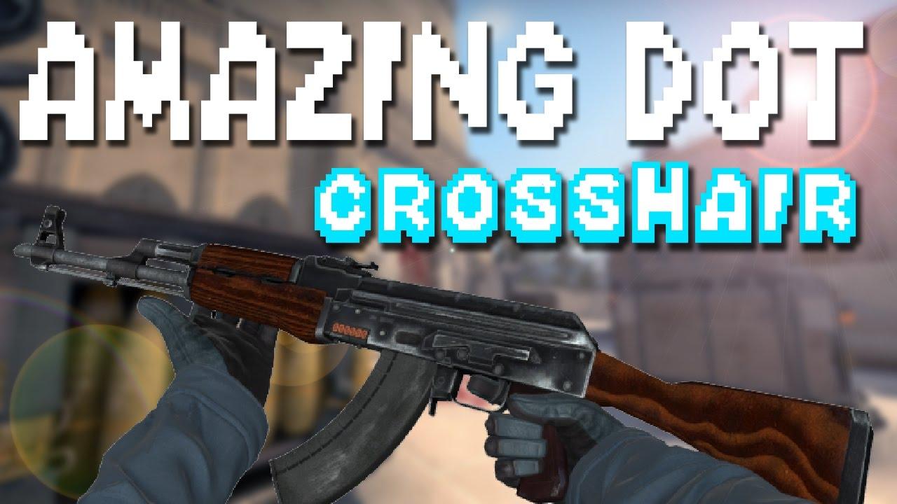 CS:GO - The PERFECT DOT Crosshair?? *CROSSHAIR COMMANDS in ...