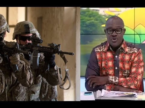 NewsPaper Review | US Military Deal | Koku Anyidaho