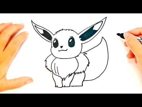 How to draw Eevee Pokemon | Eevee Easy Draw Tutorial from YouTube · Duration:  4 minutes 8 seconds