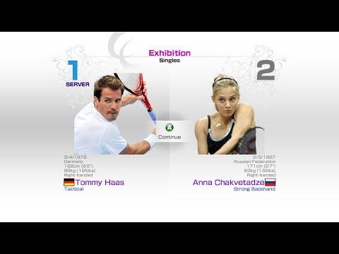 virtua-tennis-4-sega-tommy-haas-vs-anna-chakvetadze-rafael-nadal-roger-federer-andy-murray