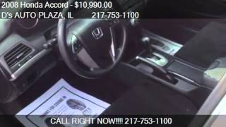 2008 Honda Accord EX Sedan for sale in Springfield, IL 62702