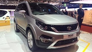 Tata Hexa Crossover  Revealed At Geneva Motor Show