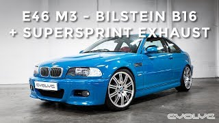 E46 M3 - Bilstein B16 + Supersprint Exhaust Install & Exhaust Sound