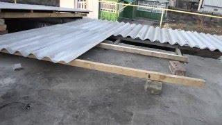 видео Шиферная крыша: замена, ремонт и укладка шифера своими руками