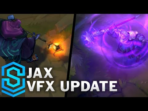 Jax Visual Effect Update - All Affected Skins Comparison | League Of Legends