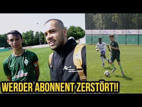 13 Jähriges Werder Bremen Talent zerstört Volkswagen Junior Masters!