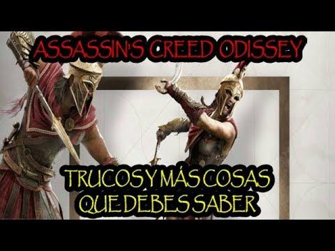 ASSASSIN'S CREED ODYSSEY - TRUCOS, COFRES LEGENDARIOS, LOCALIZACIONES SUBMARINAS, FINALES Y MAS!!
