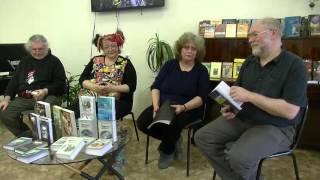 Встреча с писателями-фантастами библиотека им.Б.Кравченко 21 04 2016