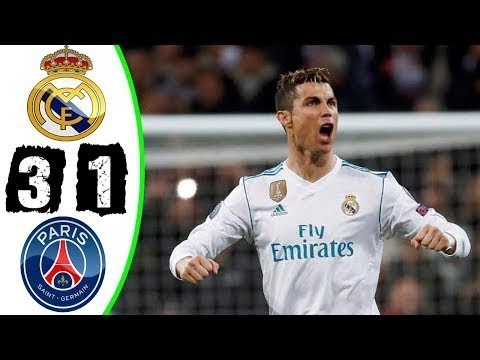 Real Madrid Vs Psg Highlights In English