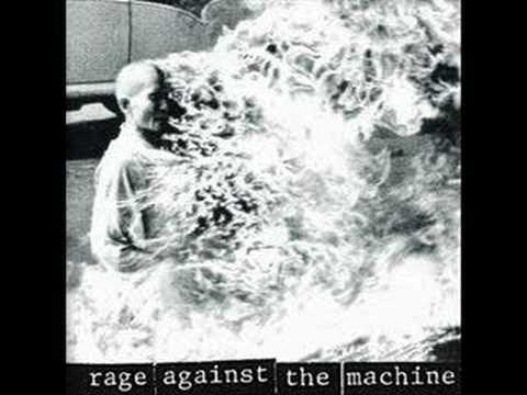 rage against the machine killing in the name tab