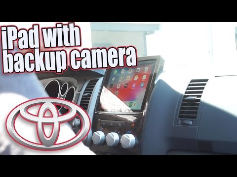 Acura Stereo System Part 11, Toyota Tundra IPad With Backup Camera