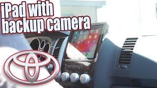 Acura stereo system part 11, Toyota Tundra iPad with backup camera