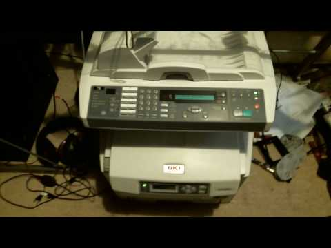 How to fix an OKI Laser Printer that prints bad!