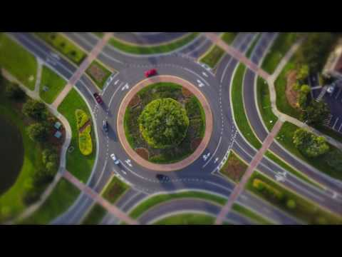 Round About Tilt Shift. Filmed in Viera, Melbourne, Florida