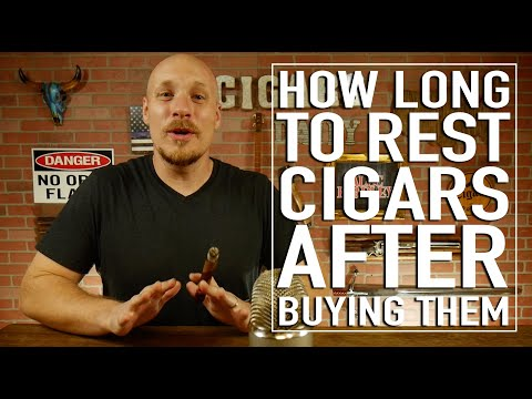 How Long To Rest Cigars After Buying Them!?