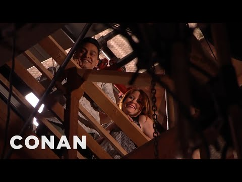 Conan Welcomes Airbnb Guests To His Rafters  - CONAN on TBS