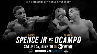 Errol Spence Jr. vs Carlos Ocampo (Promo) IBF Welterweight World Title Fight